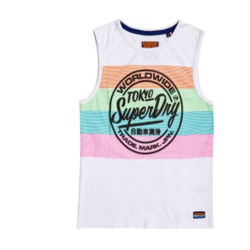 1ad1f1c174 Superdry D2 Ticket Type Oversized Mid Weight Vest